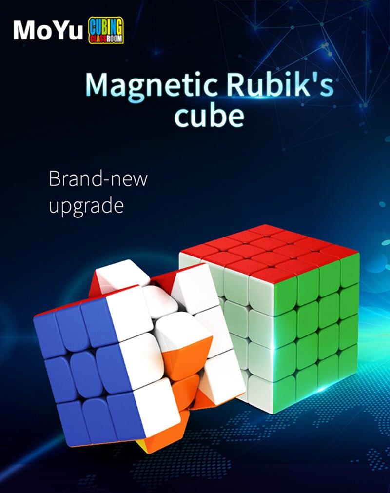Mais novo moyu rs3m 2020 3x3x3 magnetismo