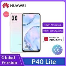 Huawei Hisilicon Kirin 810Octa Core P40 Lite/P40 Lite E 6Gb 128Gb Smartphone 48MP Ai Camera 6.4 ''Fhd Scherm 40W Qcс Мартфоны