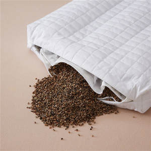 Pillow Buckwheat-Shell New-Bedding Health Neck Home-Textile Double-Layer 48--74cm 2/3kgs