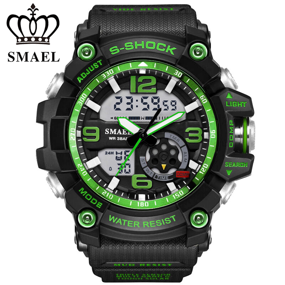 Digital Sports Watch Men Clock Male LED Quartz Wrist Watches Men's Top Brand Luxury Digital-watch Military waterproof Relogio