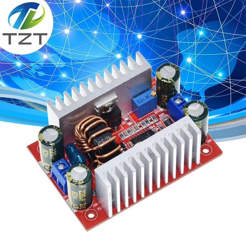 Повышающий преобразователь постоянного тока 400 Вт 15 А, светодиодный драйвер источника питания с 8,5-50 В до 10-60 в, Модуль повышения напряжения з...