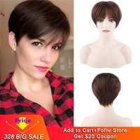 Eseewigs Seide Basis Perücken Volle Spitze Menschliches Haar Perücke Pre Gezupft Lockige Brasilianische Remy Haar Für Frauen Mit Baby Haar natürliche Haaransatz