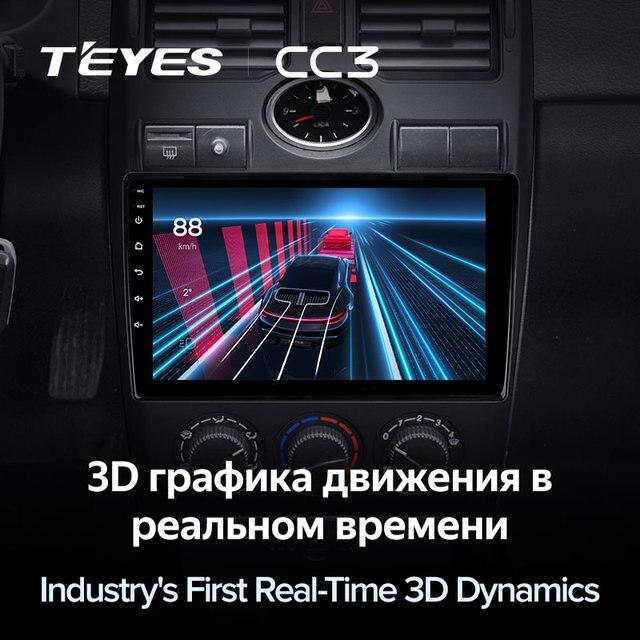 TEYES CC3 Штатная магнитола For Лада Приора 1 For LADA Priora I 1 2007 - 2013 до 8-ЯДЕР, до 6 + 128ГБ 27EQ + DSP carplay автомагнитола 2 DIN DVD GPS android 10 мультимедиа автомобиля головное устройство 5