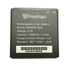 For Prestigio MultiPhone PAP4044 DUO PAP 4044 Smart Phone Battery 1500mAh For Prestigio MultiPhone PAP4044 DUO PAP 4044(China)