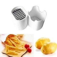 Резка картофельных чипсов коробка пресс резак чашка пластик слайсер измельчитель Чипсы Картофель фри инструмент для резки картофеля Кухонные гаджеты
