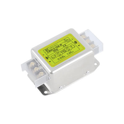 Terminal-Block POWER-SUPPLY-FILTER EMI Bipolar Purification 30A CW4L2-10A-R 220V Anti-Interference