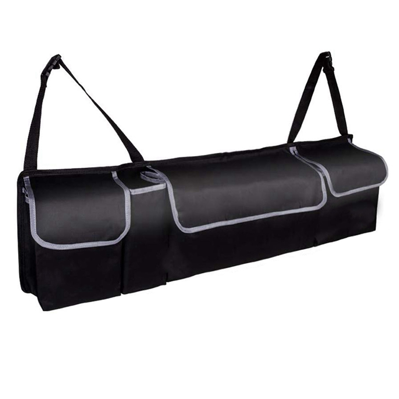 AUAU-Rear Seat Trunk Storage Bag, Car Seat Hanging Storage Bag, Free Up Your Luggage Space