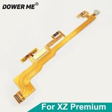 Dowerme botão de energia ligar/desligar volume interruptor da câmera conector fita cabo flexível para sony xperia xz premium xzp g8142 g8141