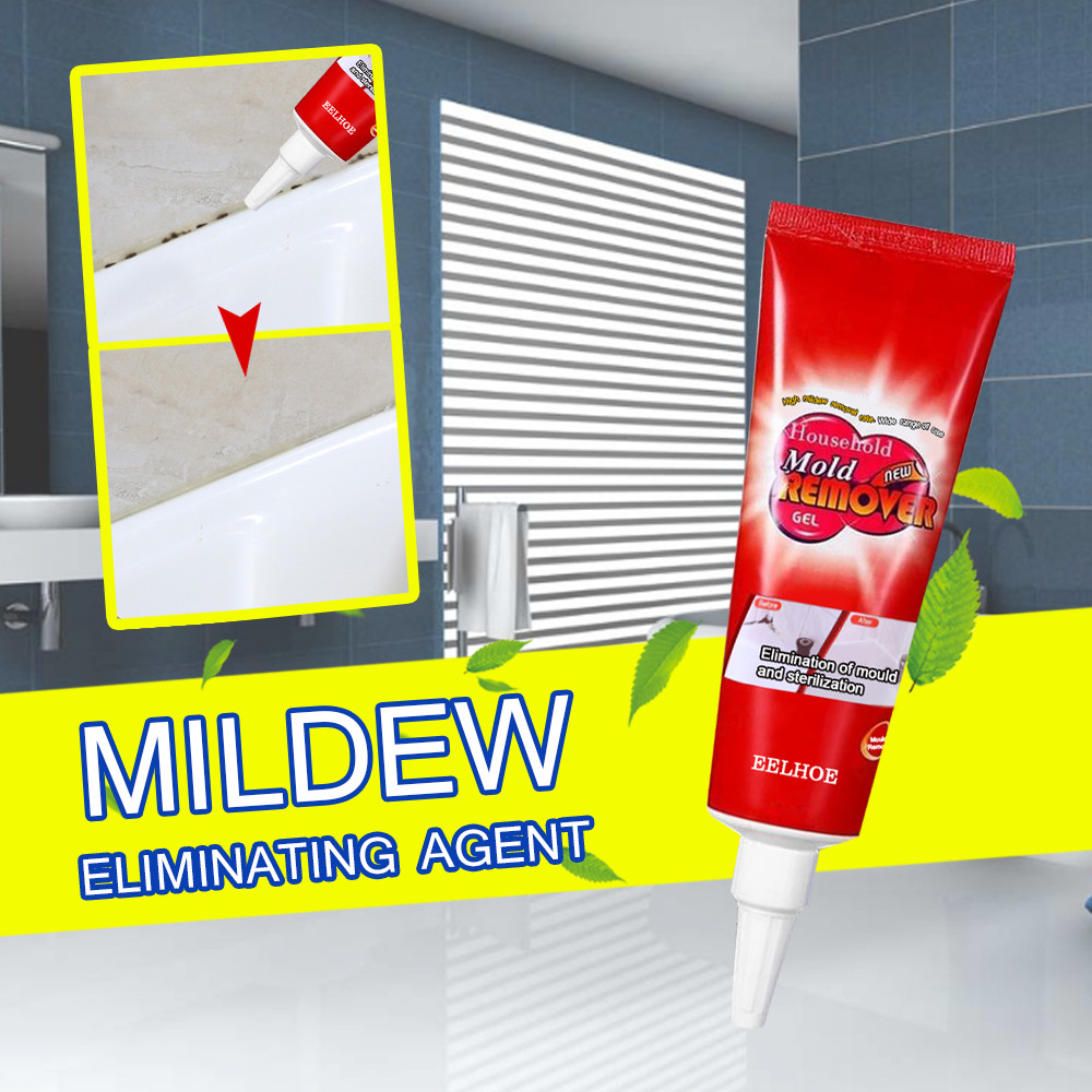 Lovely Household Cleaner Caulk Gel Mold Remover Gel Chemical Miracle Deep Down Wall Mold Mildew Remover Contains Chemical Free Wood Delaying Senility