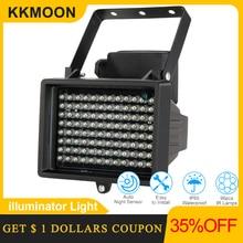96 LED הפנס אור CCTV 60m IR אינפרא אדום ראיית לילה עזר תאורה חיצוני עמיד למים עבור מעקב מצלמה
