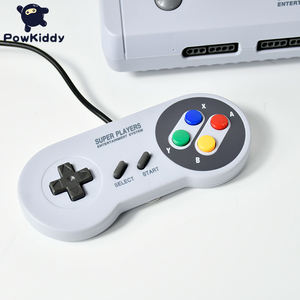 Image 2 - POWKIDDY D80 TV Video Game Console For S n e s 16 Bit Games With 100 In 1 SNES Game Cartridge (Can Battery Save)