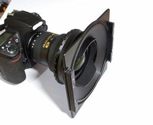 Image 3 - Alüminyum 150mm kare filtre tutucu braketi destek Samyang 14mm 2.8 Lens uyumlu Lee Hitech Haida 150 serisi filtre