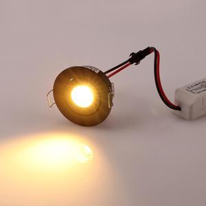 Image 5 - IP65 MINI wpuszczane LED wodoodporna lampa ze ściemniaczem na zewnątrz 3W AC90 260V/DC12V oświetlenie sufitowe LED punktowe lampy sufitowe LED