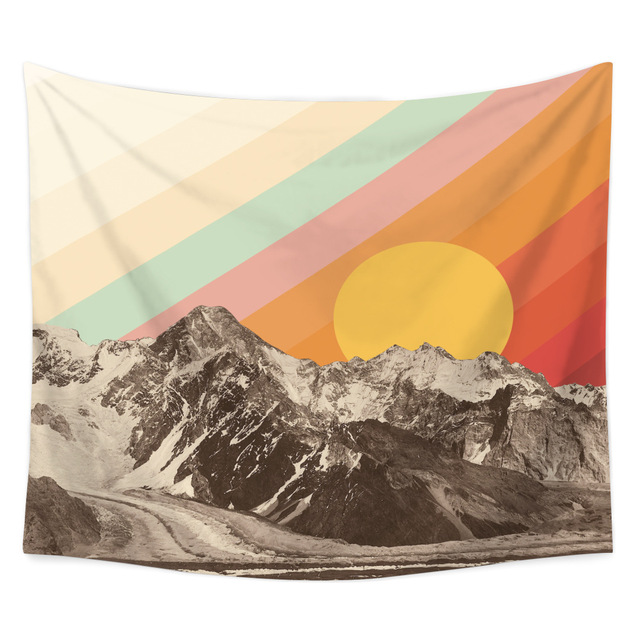 Landscape Printed Wall Tapestry 6
