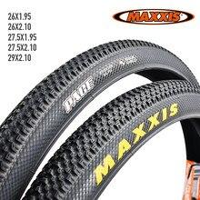 2 pièces MAXXIS 26 Pneu De Vélo 26*2.1 27.5*1.95 VTT VTT Pneus 60TPI Anti Crevaison 26*1.95 27.5*1.95 29*2.1 rythme VÉLO Pneu