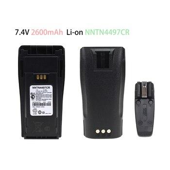 NNTN4497CR Replacement Battery 2600mAh Li-on Battery for Motorola CP040CP040 CP140 CP150 CP160 PR400 XiR P3688 2x nntn4497cr 1500mah nickel battery for motorola cp200 pr400 ep450 ep450s dep450 cp150 cp140 cp160 cp180 cp250 gp3688 gp3188