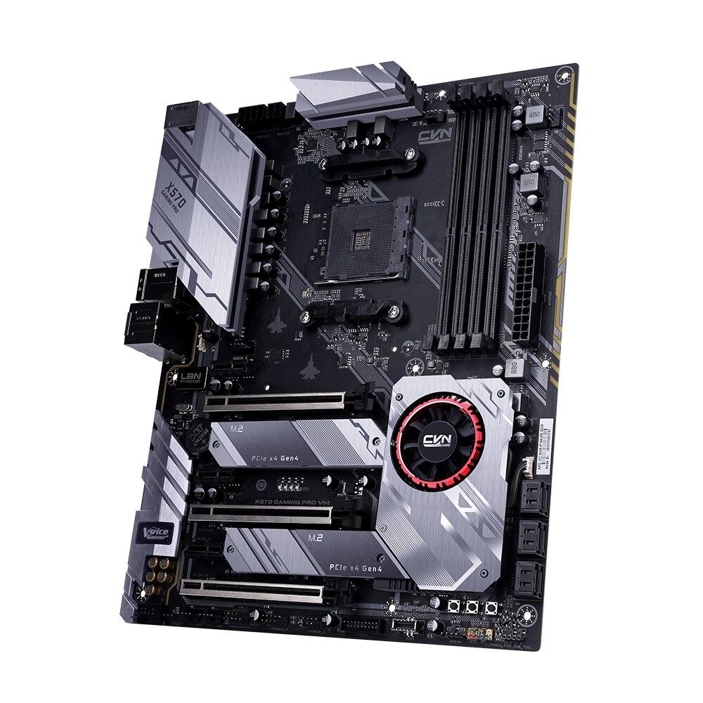 Coloré CVN X570 GAMING PRO V14 carte mère carte mère système multi-protection AMD AM4 Ryzen 2000 et 3000 processeur