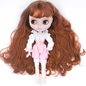 Image 3 - Neo Blyth Doll Customized NBL Shiny Face,1/6 OB24 BJD Ball Jointed Doll Custom Blyth Dolls for Girl, Gift for Collection FHYM