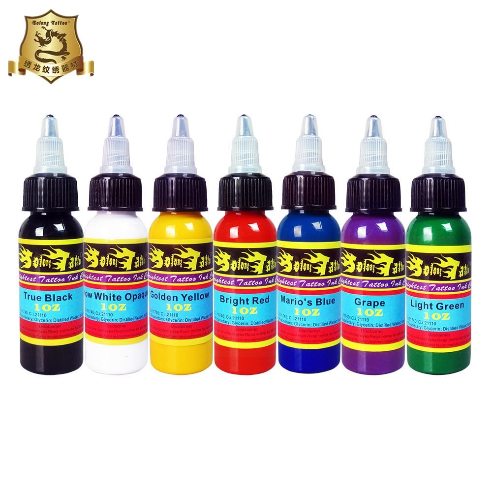 Xiu Long Tattoo Pigment Suit Tattoo Pigment Tattoo Color Ink Wenxiu Tattoo Pigment Full Tattoo Equipment