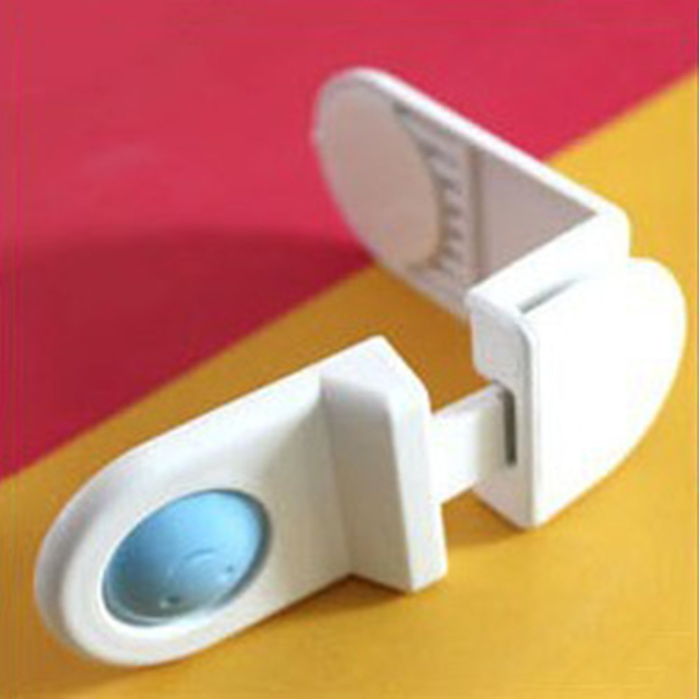 Baby Drawer Door Cabinet Cupboard Toilet Safety Locks Baby Kids Safety Care Plastic Locks Infant Baby Protection Baby Protector