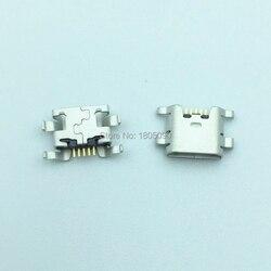 Мини-разъем Micro USB 5pin, 50 шт., порт для зарядки мобильного телефона для ZTE Blade L2 S6 5,0 U807 N983 N807 U956 N5 N909 N798 N980 N986