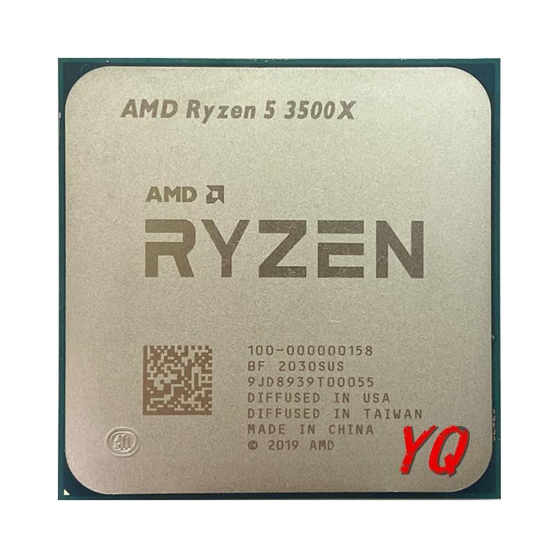 Процессор AMD Ryzen 5 3500X R5 3500X 3,6 ГГц шестиядерный шестипоточный процессор 7 нм 65 Вт L3 = 32M 100-000000158 разъем AM4