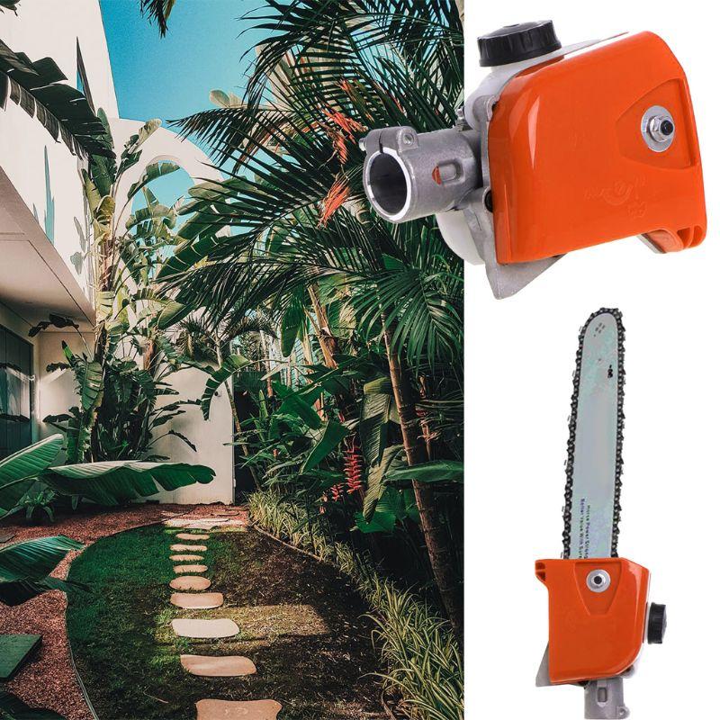 Tree Chainsaw Gearbox Gear Head 26mm Spline Pole Saw Tree Cutter Chainsaw Gearbox Gear Head Tool 7/9 Spline Hot