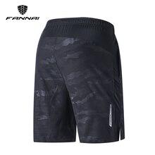 Шорты FANNAI мужские для бега, быстросохнущие спортивные штаны для тренировок, бега, фитнеса, тренировок в зале, кроссфита, повседневные камуфл...