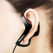 Gancho da orelha 13mm esporte fone de ouvido baixo correndo fones controle volume mic alta fidelidade para iphone/samsung ios android telefones inteligentes
