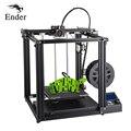 Impressora de alta precisão 3D Ender-5 Cmagnetic construir placa de grande porte, desligue currículo fácil biuld Criatividade 3D Filamentos + Foco + SD