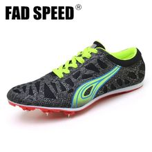 Professional sneakers Women's Track and Field Shoes Men's Soft bottom Spikes Running Training Shoes Light Racing Unisex 36-45