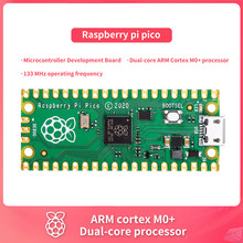 Neue Offizielle Raspberry pi pico Mikrocontroller Entwicklung Bord, Dual-core ARM Cortex M0 + prozessor, 133 MHz betriebs frequenz