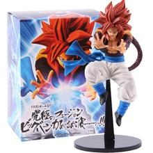 Dragon Ball Super Saiyan 4 GT Ultimate Fusion Big Bang Kamehameha Super Saiyan 4 Gogeta pcv figurka Model kolekcjonerski zabawka