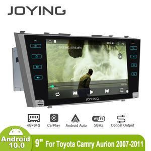 Image 3 - Android 10,0 9 inch 2 din radio auto 4GB + 64GB kopf einheit GPS Navigation Octa Core für toyota Camry 2007 2011 unterstützung 3G/4G DSP BT