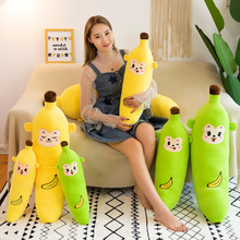 Couple models banana strip pillow simulation fruit creative plush toys