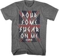 Def Leppard Pour Some Sugar On Me Adult T Shirt Heavy Metal Music Hip Hop Tee Shirt,Cheap Wholesale tees,2019 Hot Tees