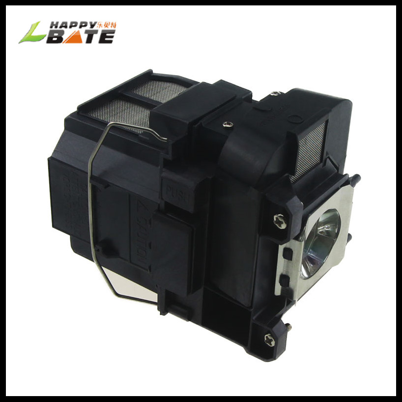 HAPPYBATE Projector Lamp With Housing ELPLP75 V13H010L75 Lamp For EB-1940W EB-1945W EB-1950 EB-1955 EB-1960 EB-1965