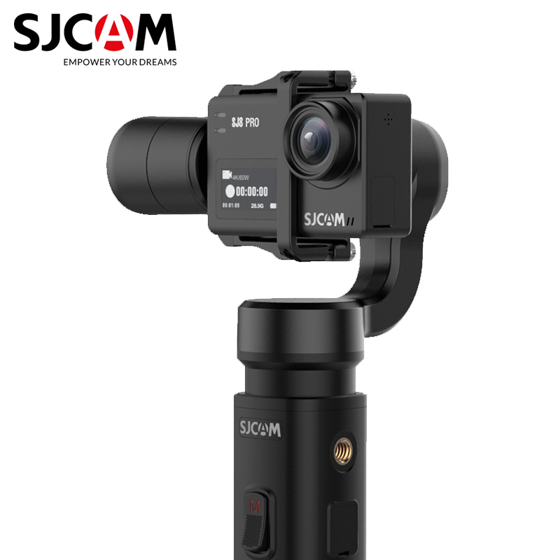 Original SJCAM Handheld GIMBAL 2 3 Axis Stabilizer Bluetooth Control SJ-Gimbal 2 For SJ6 SJ7 SJ8 Pro/Plus/Air Action Camera