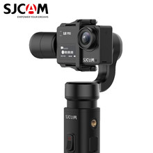 Asli SJCAM Handheld Gimbal 2 3 Axis Stabilizer Bluetooth Kontrol SJ-Gimbal 2 untuk SJ6 SJ7 SJ8 Pro/ plus/Air Action Camera(China)