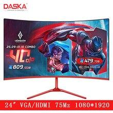 DASKA 24 inç kavisli LCD monitör oyun oyunu yarışması 24