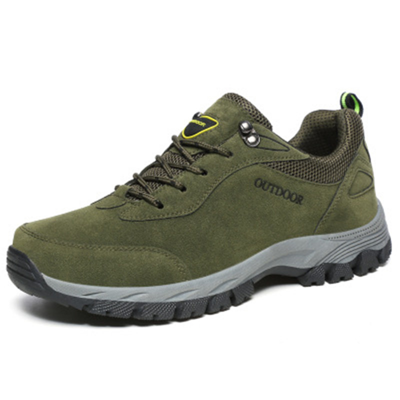 Big Size 46 47 48 49 High Quality Men Outdoor Sports Shoes Male Comfortable Walking Sneaker Suede Rubber Sole Casual Footwear