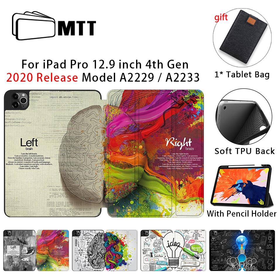 MTT Case For iPad 4th Gen Pro 12 9 2020 Release A2229 A2233 Soft TPU Back