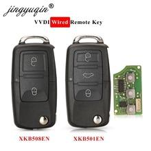 jingyuqin 5pcs Xhorse XKB501EN XKB508EN XKB510EN Wire Remote Key For B5 Type for VVDI2/VVDI Key Tool/MIni Key Tool/Key Tool Max