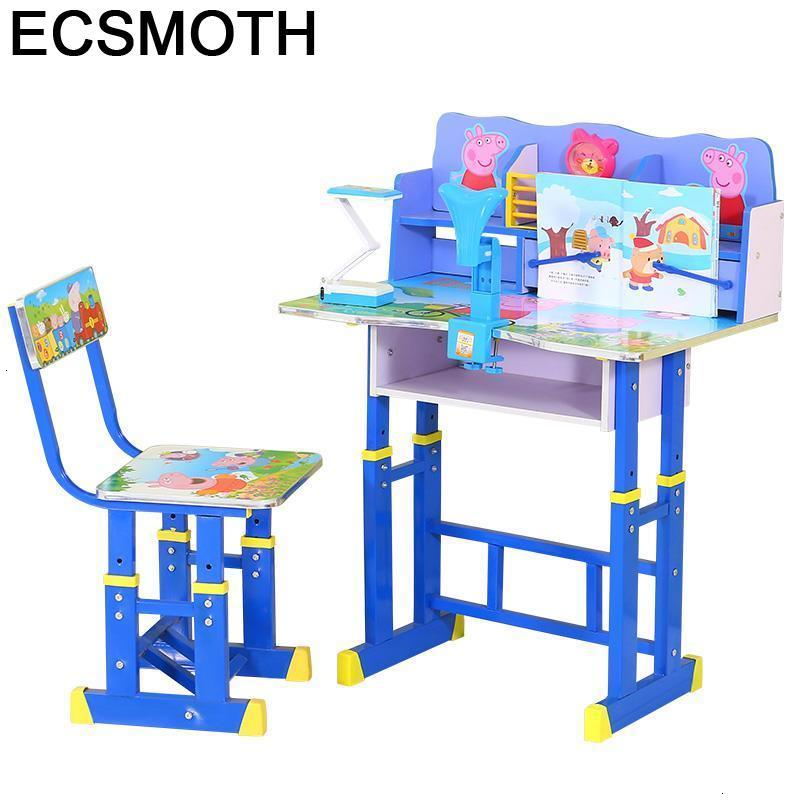 Escritorio Baby Mesinha Y Silla And Chair Stolik Dla Dzieci Play Adjustable Bureau Enfant Mesa Infantil Study Table For Kids