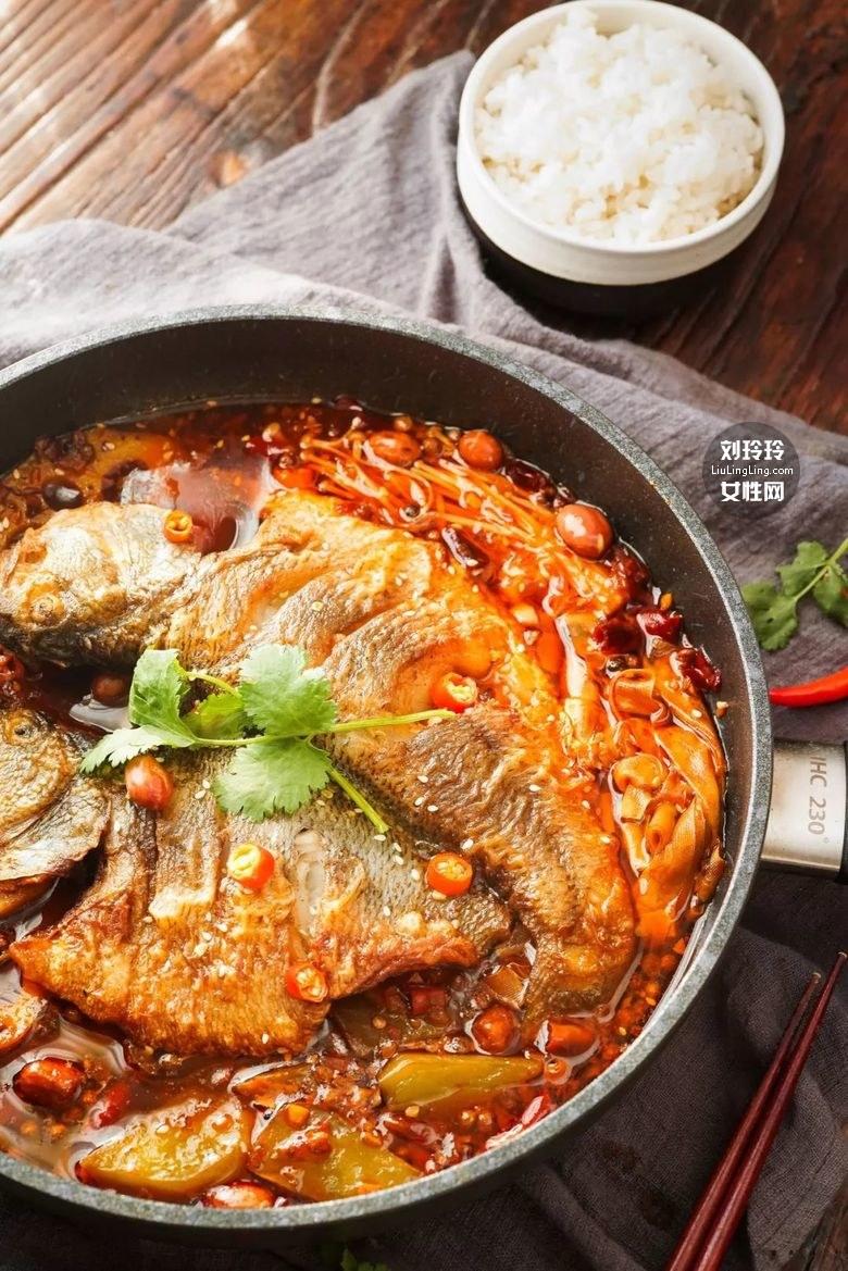 平底锅烤鱼的做法 美味烤鱼一条不够吃!14