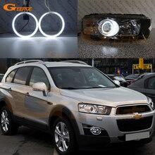 цена на Excellent Ultrabright headlight illumination CCFL Angel Eyes kit For Chevrolet Captiva 2012-2014 Halo Ring
