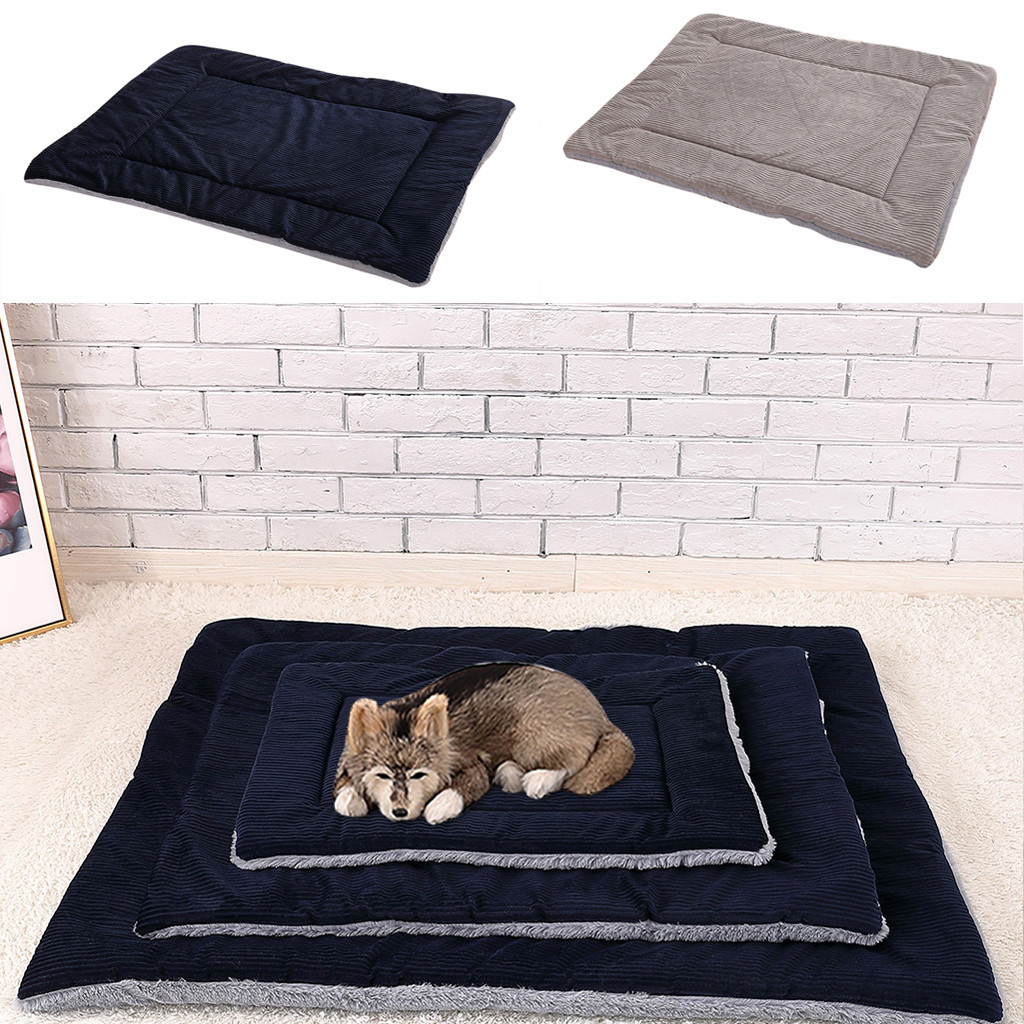 cat bed dog Bed Pet Mat Winter Thicken Warm Cat Dog Blanket puppy Sleeping Cover Towel cushion for small Medium large dog House