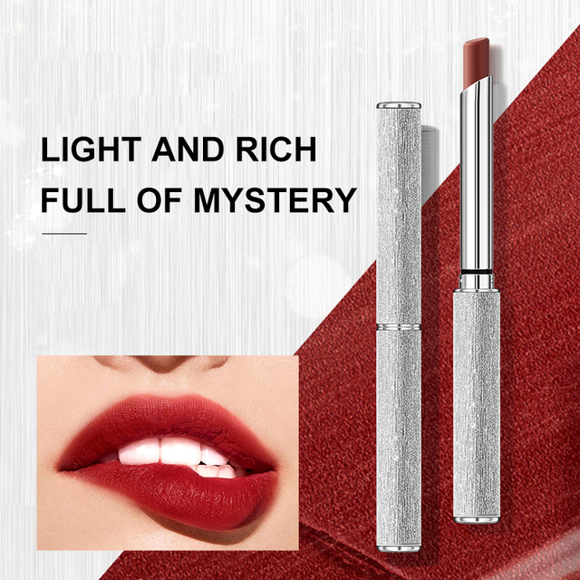 6 Colors Velvet Matte Lipsticks Pen Waterproof Long Lasting Sexy Red Lip Stick Gloss Moisturizing Makeup Lip Tint Pen Cosmetic 4