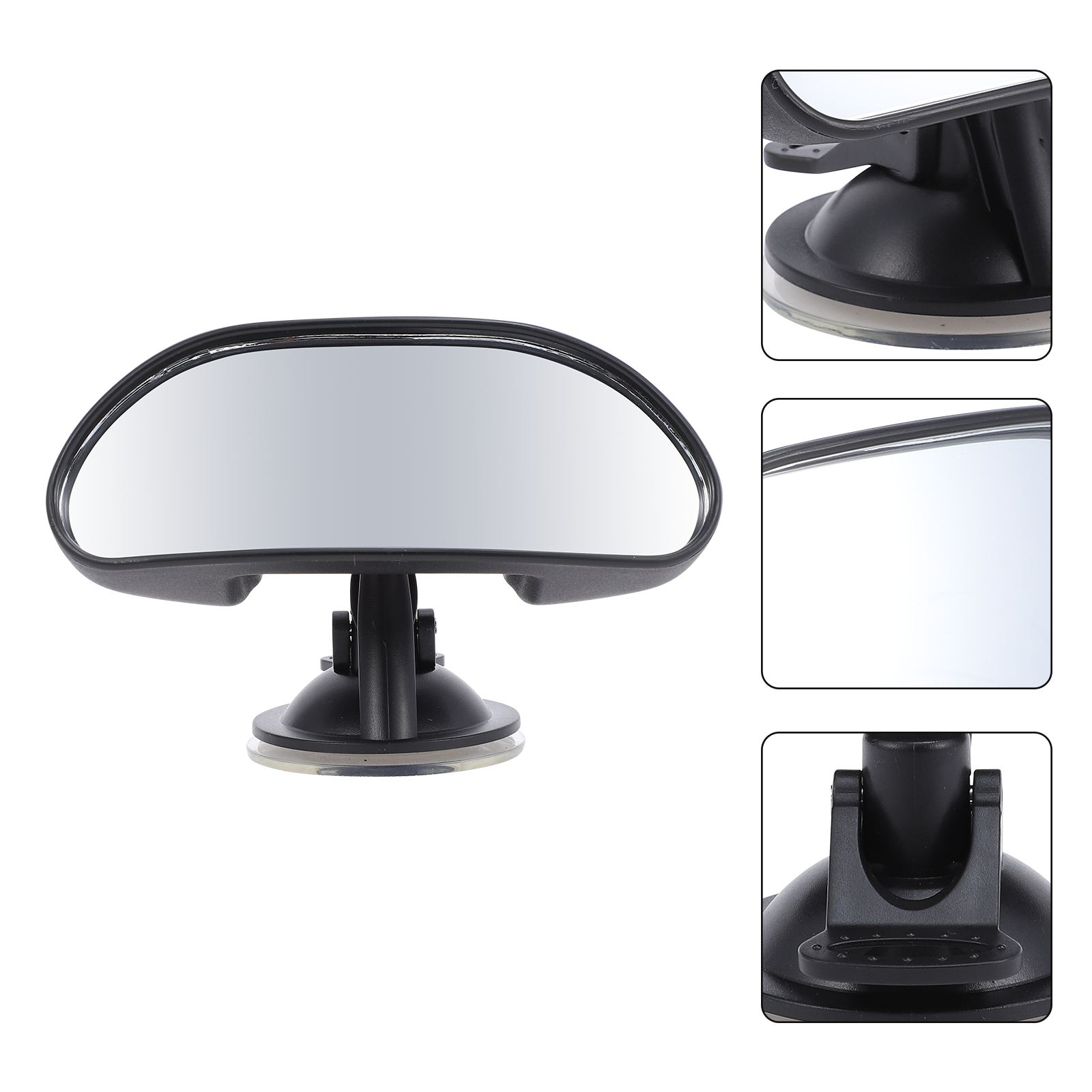 Baby Car Mirror Car Back Seat Safety View Rear Baby Child Safety Mirror Clip and Sucker Mount rearview mirror