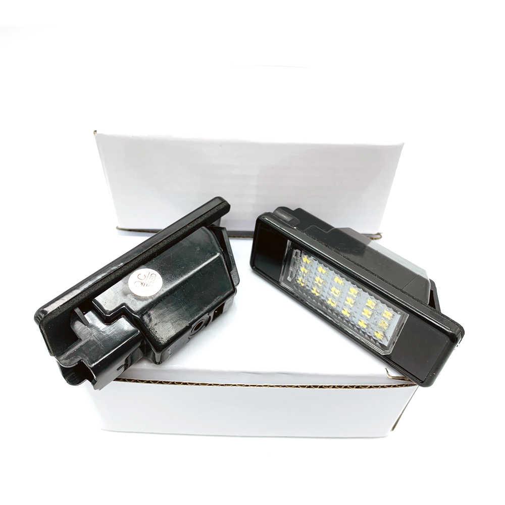لبيجو 106 1007 207 307 308 3008 406 407 508 607 لسيتروين C2 C3 C4 C5 C6 C8 DS3 ترخيص لوحة ضوء ترخيص عدد مصباح